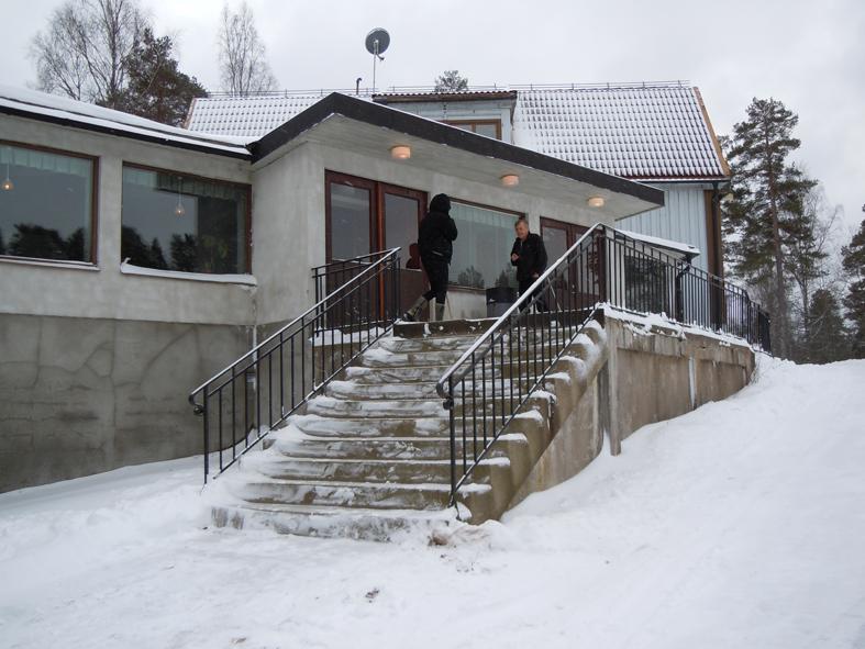 Folkets Hus i Fredriksberg, plats för Finnskogsträffen.