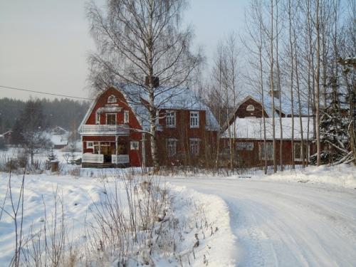 Hultebo Tryckeri utanför Skinnskatteberg.