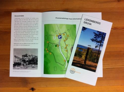 Lekombergs vandringsfolder äntligen klar!!!