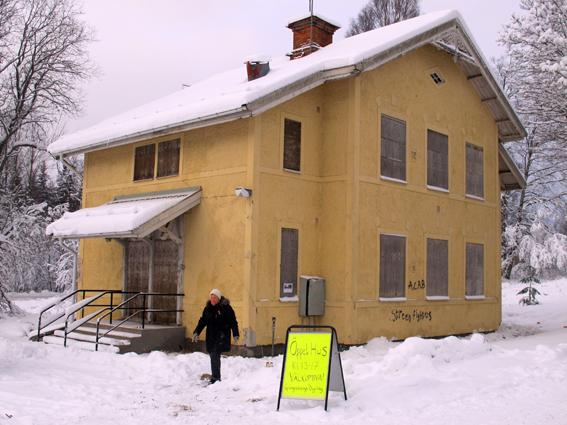 Visningshuset i Källfallet, Grängesberg.