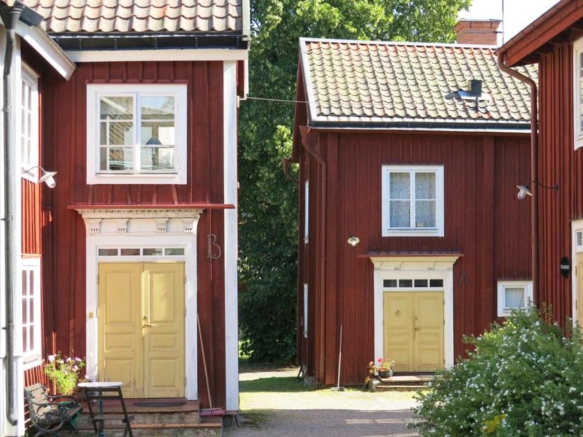 Abrahamsgården i centrala Norberg