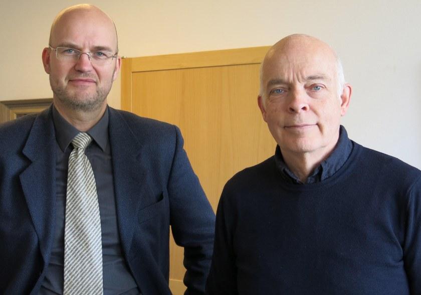 Sven-Olof Juvas och Carl-Magnus Gagge