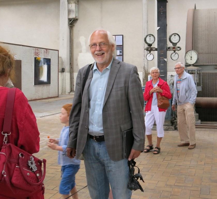 Ingvar Henriksson, ordförande i Stiftelsen Ekomuseum Bergslagen.