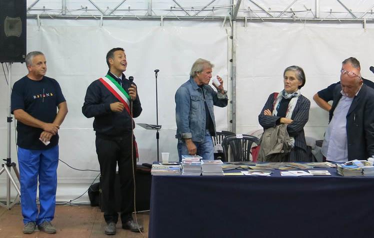Bormästaren i Argenta inviger Ekomuseimässa